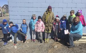 Not so Little Cora book reading at Terence Bay School May 2019